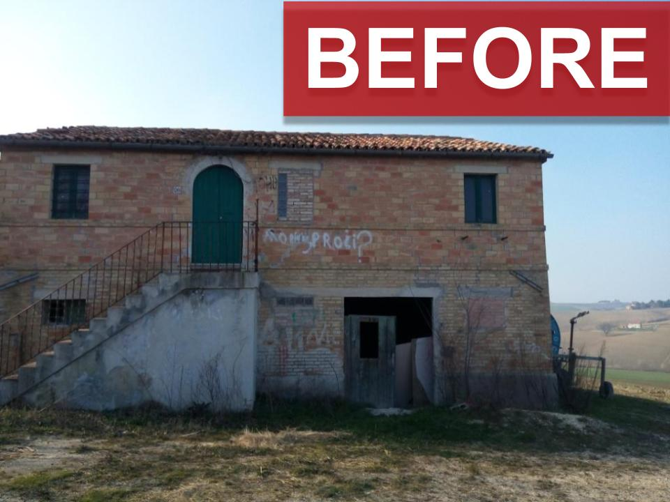 Francy's house before renovation